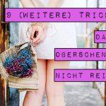 9 (weitere) Tricks, damit Oberschenkel nicht reiben (Anti-Chafing)