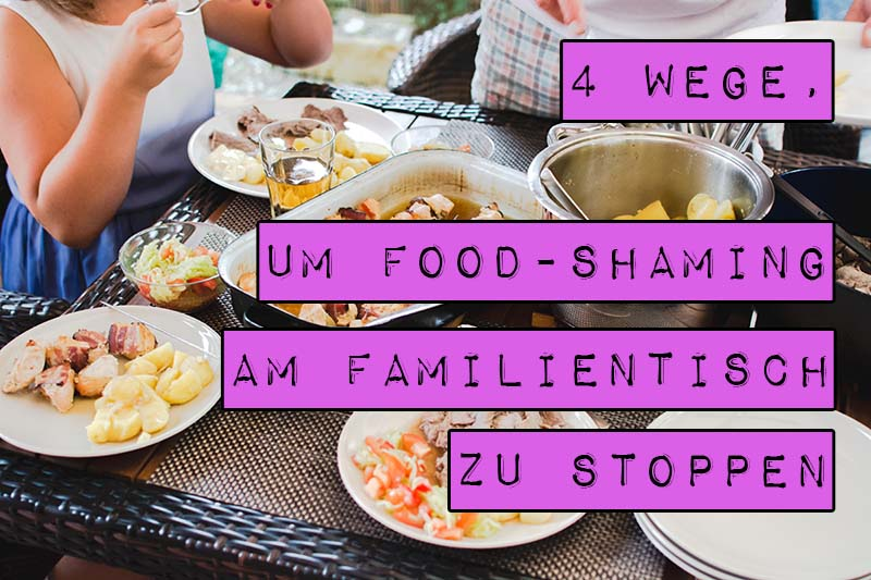 Für Menschen mit Essstörungen oder Problemen mit dem eigenen Körperbild kann das Aufeinandertreffen mit bewertenden Verwandten traumatisch sein. Vorgespielte Besorgnis (Concern-Trolling) und negative Kommentare über die Menge an Essen, die wir konsumieren, machen aus einem freudigen Ereignis einen Hürdenlauf. Marshmallow Mädchen verrät vier Wege, mit denen du Food-Shaming am Familientisch stoppst.
