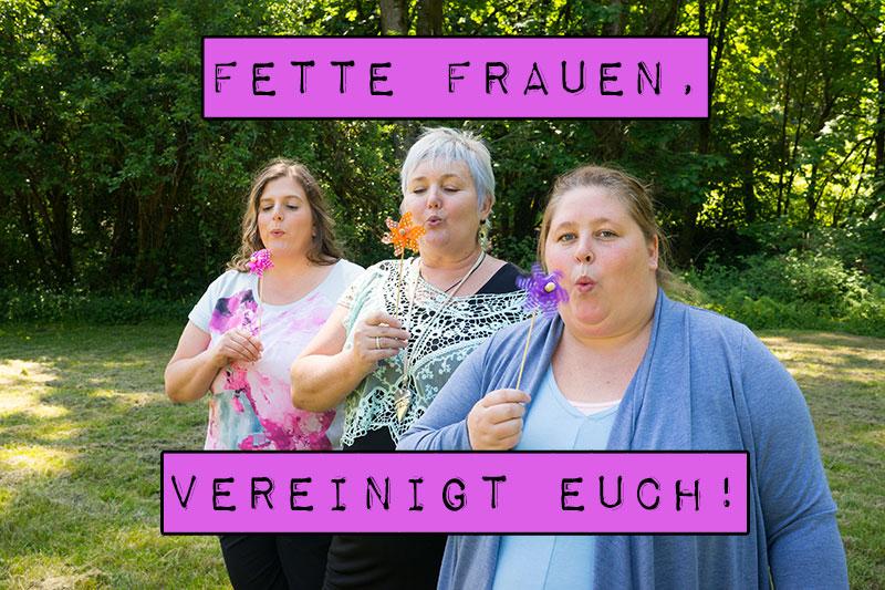 Die lautesten Fat Shamer sind fette Frauen – das wird vor allem bei Body-Shaming-Kommentaren in den Sozialen Netzwerken deutlich. Doch damit sperren sich dicke Frauen selbst in ein Gefängnis aus Regeln ein, die eigentlich gar nicht existieren. Reißt die Gefängnismauern nieder! Fette Frauen, vereinigt euch!