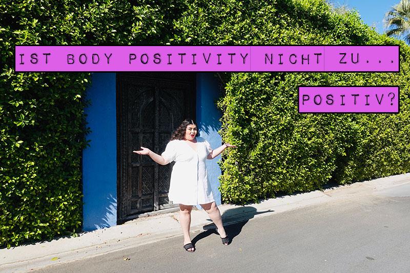 Haderst du mit Body Positivity, weil sie dir zu positiv ist? Findest du den Gedanken utopisch, deinen Körper jemals zu lieben? Dann lies hier, wie du Body Positivity für dich umsetzen kannst und warum es sogar essenziell ist, dass Body Positivity positiv ist.
